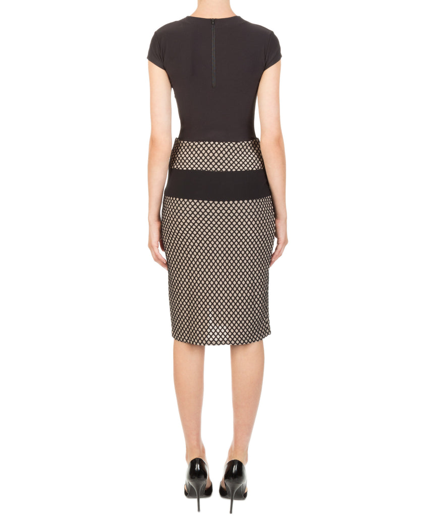 Kendall + Kylie Mesh Sports Pencil Skirt