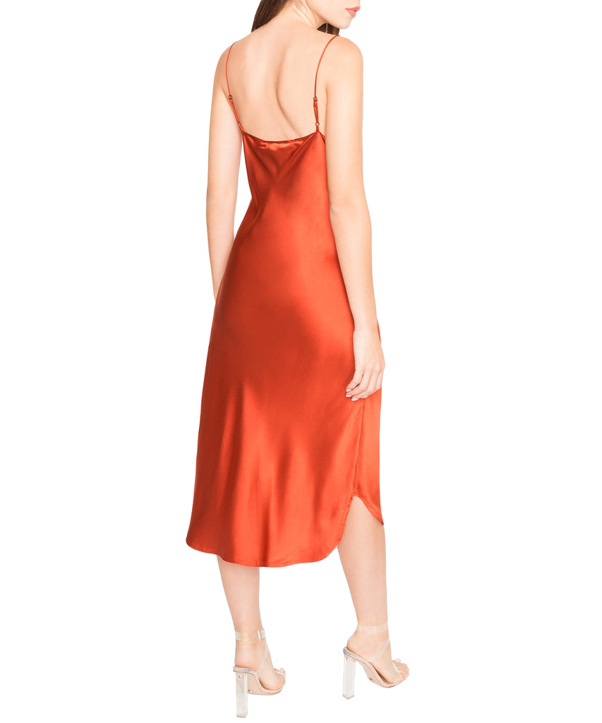 Kendall + Kylie Silk Slip Dress