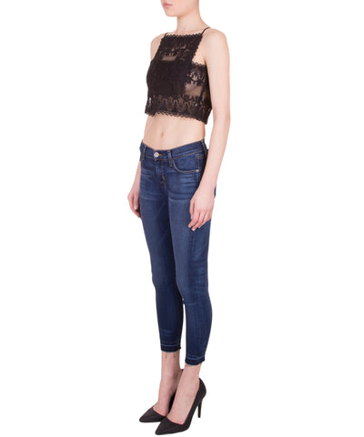 Choros Lace Crop Top