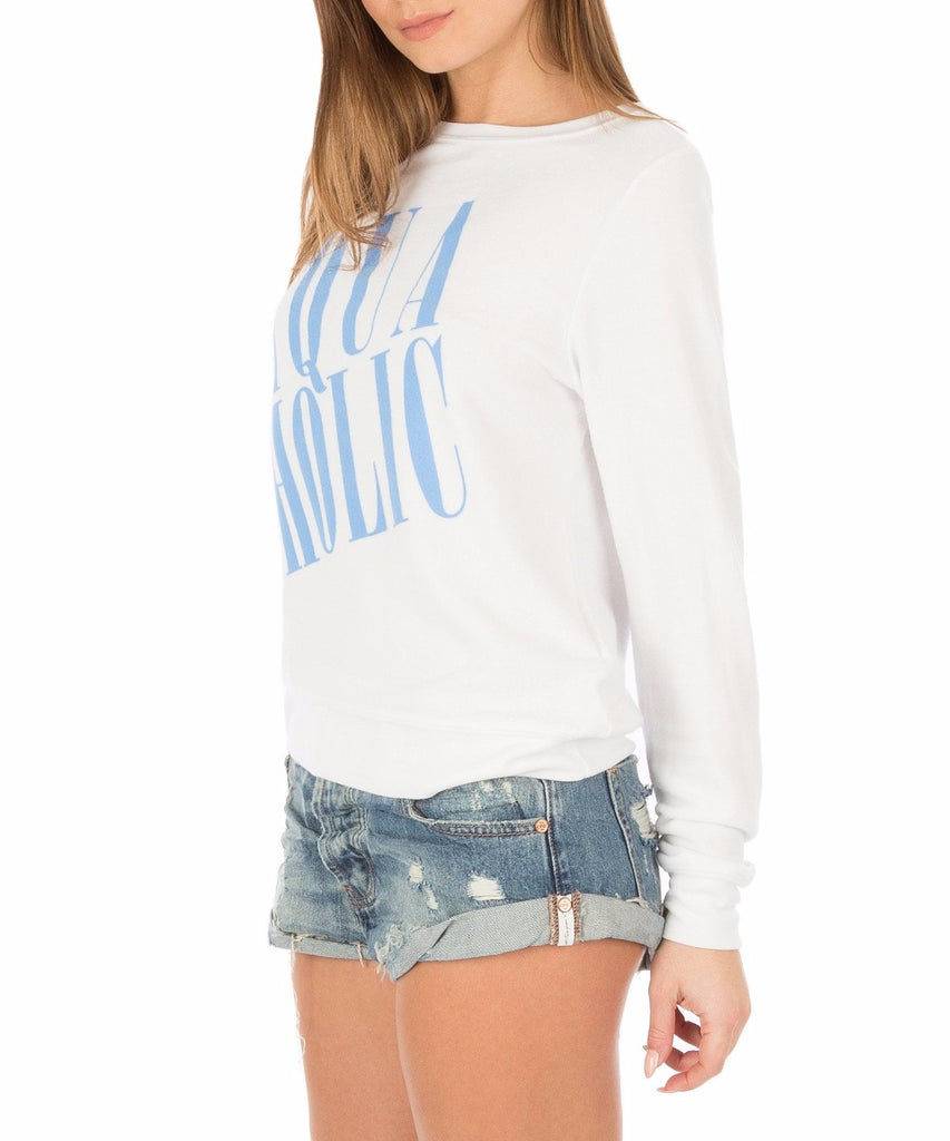 Wildfox Aquaholic Sweater