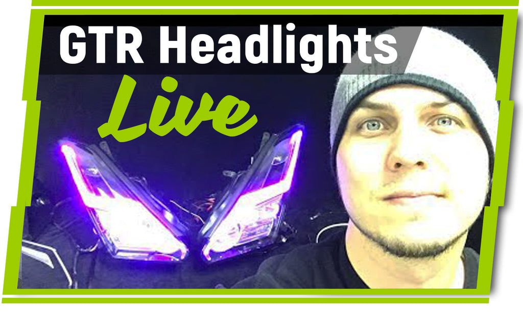 Nissan GTR Customized Headlight Package Options and Features Explained