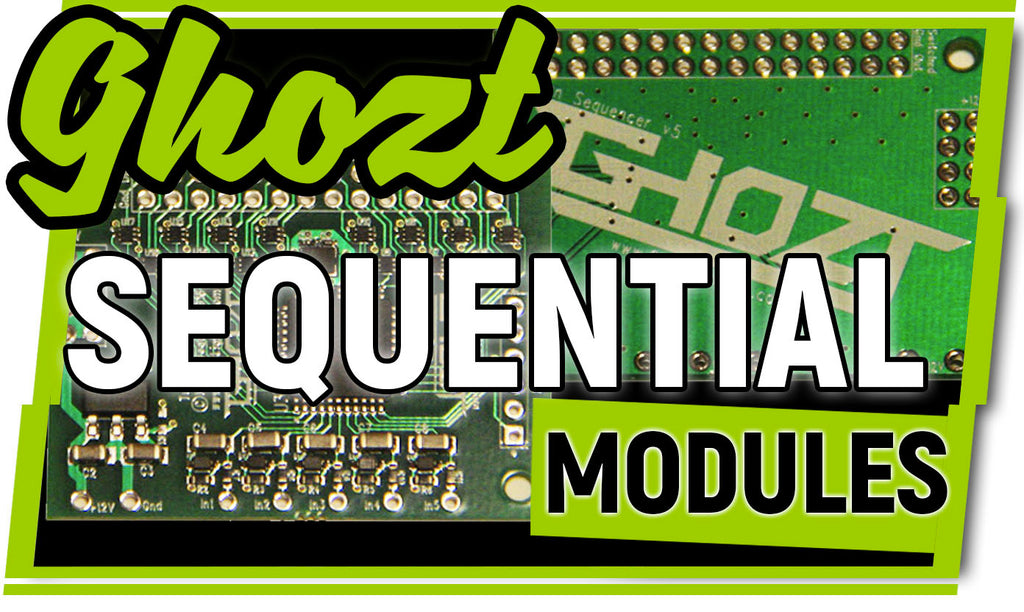 Ghozt Lighting Sequential LED Modules