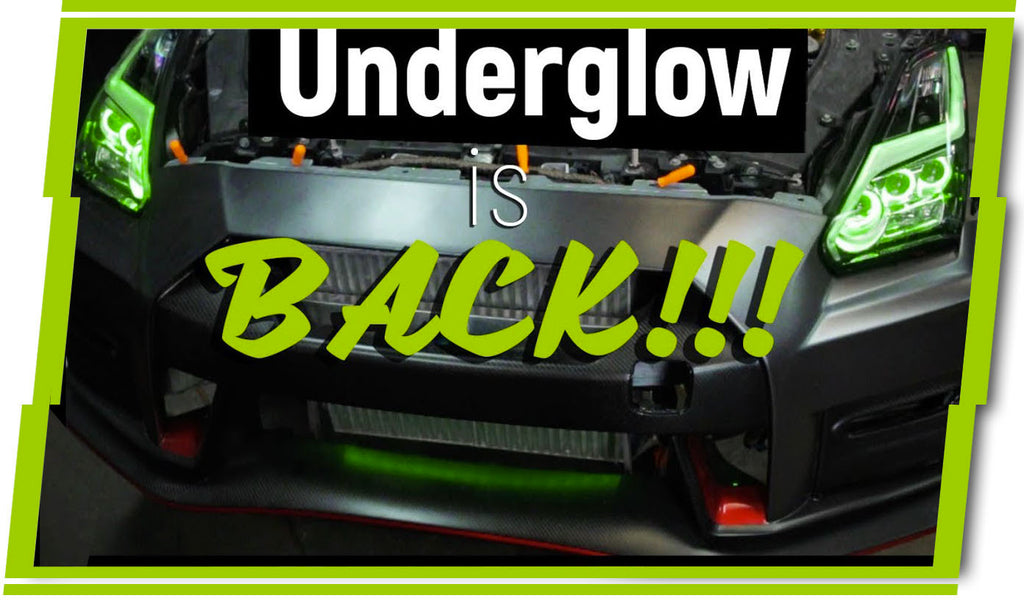 Bringing UNDERGLOW Back!!! Color Changing Nissan GTR | LEDs everywhere