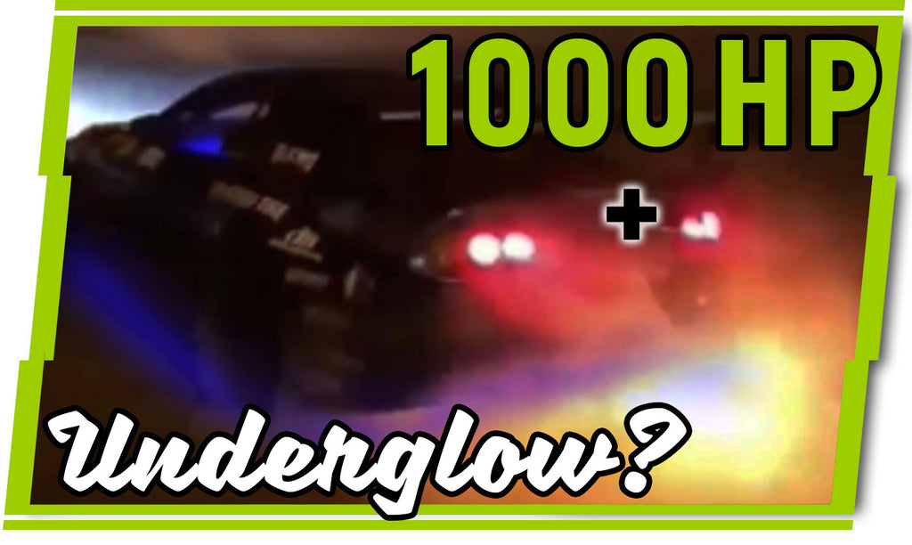 1000 Horsepower Drift Supra getting Underglow?
