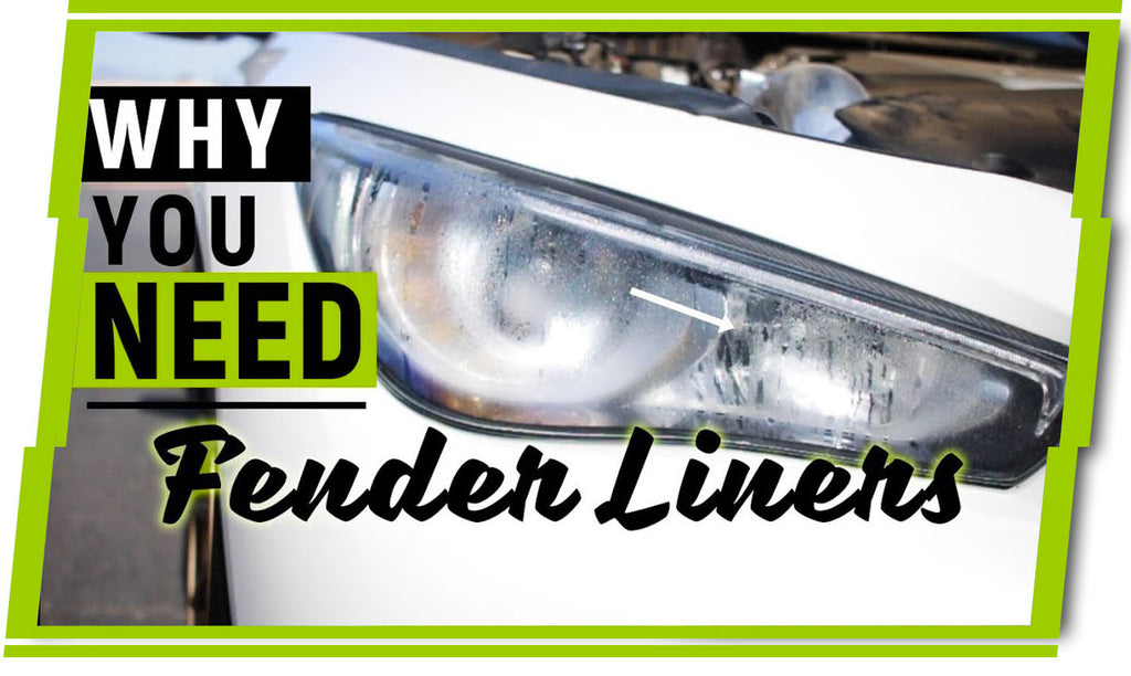 Water INSIDE Headlights!!! Why You NEED to run Fender Liners