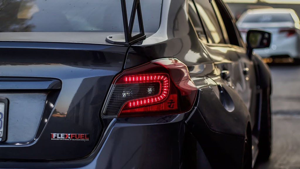 Dustin Williams Sequential LED Tail Lights + lighting Upgrades + 2018 Subaru WRX