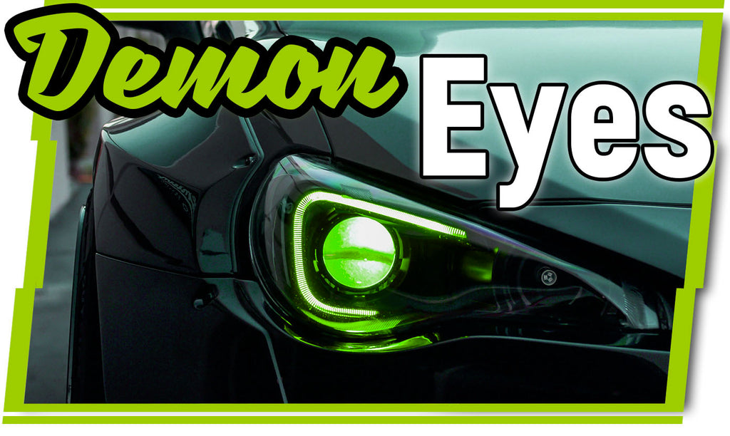 What are LED Demon Eyes? Learn about Lighting