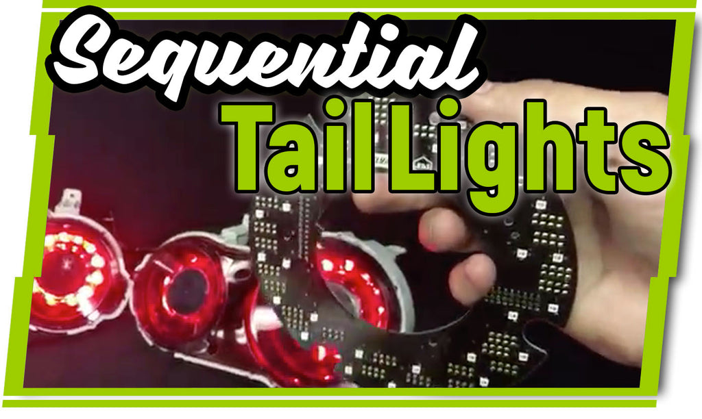 Sequential LED Custom Tail Lights | Nissan GTR