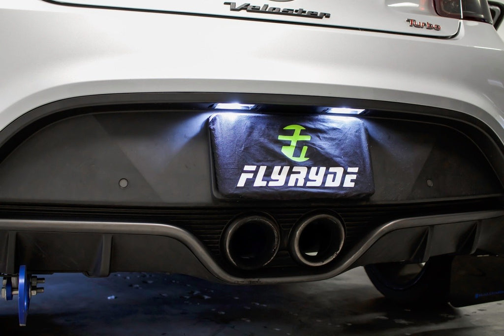 FlyRyde LED License Plate Bulbs 2012 - 2017 Veloster