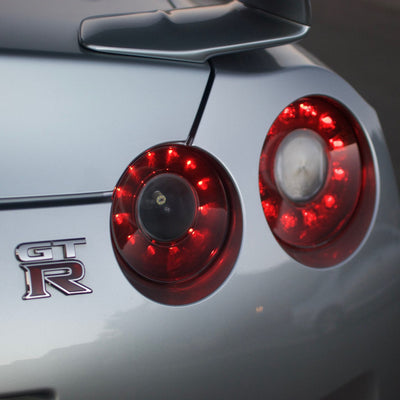Stage 1 (Lite Series) Nissan GTR 2009 - 2014 Black OEM Tail Lights - MODIFICATION ONLY