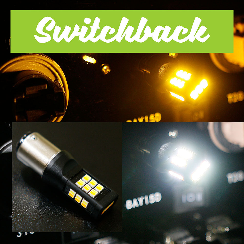 1157 SB  (Switchback) White / Amber