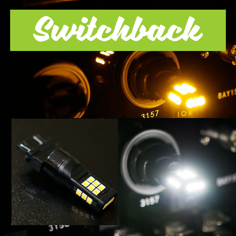 3157 SB (Switchback) White / Amber