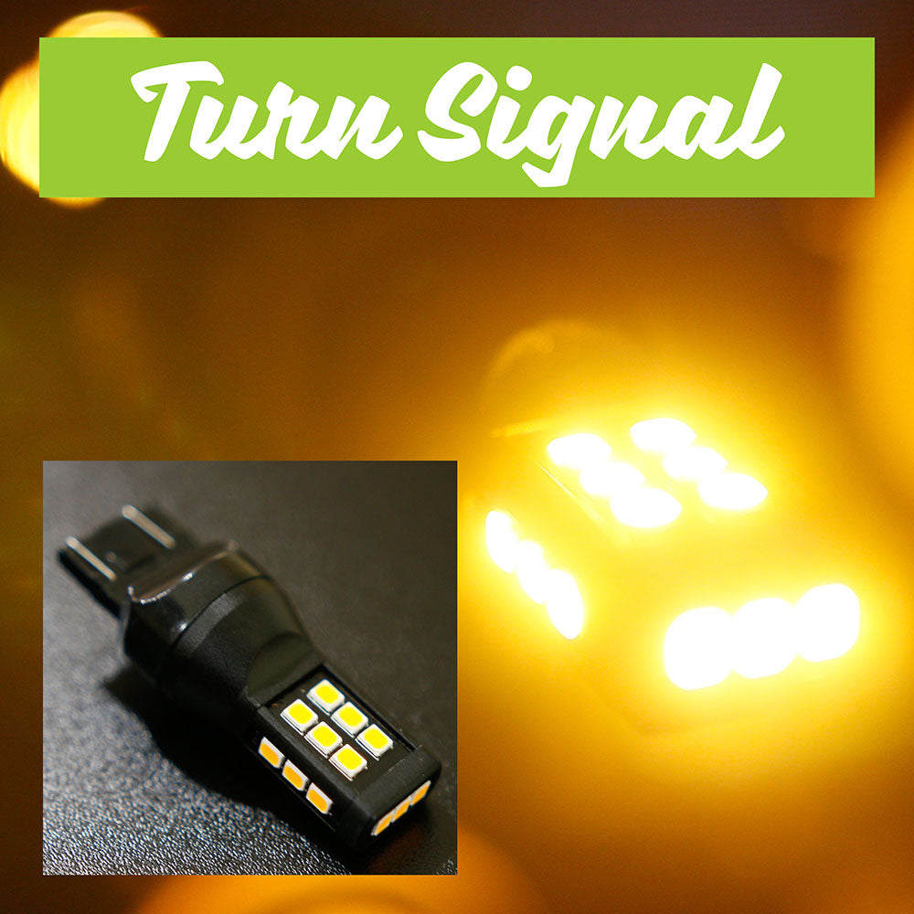 Bright LED Turn Signal Bulbs (1 pair)