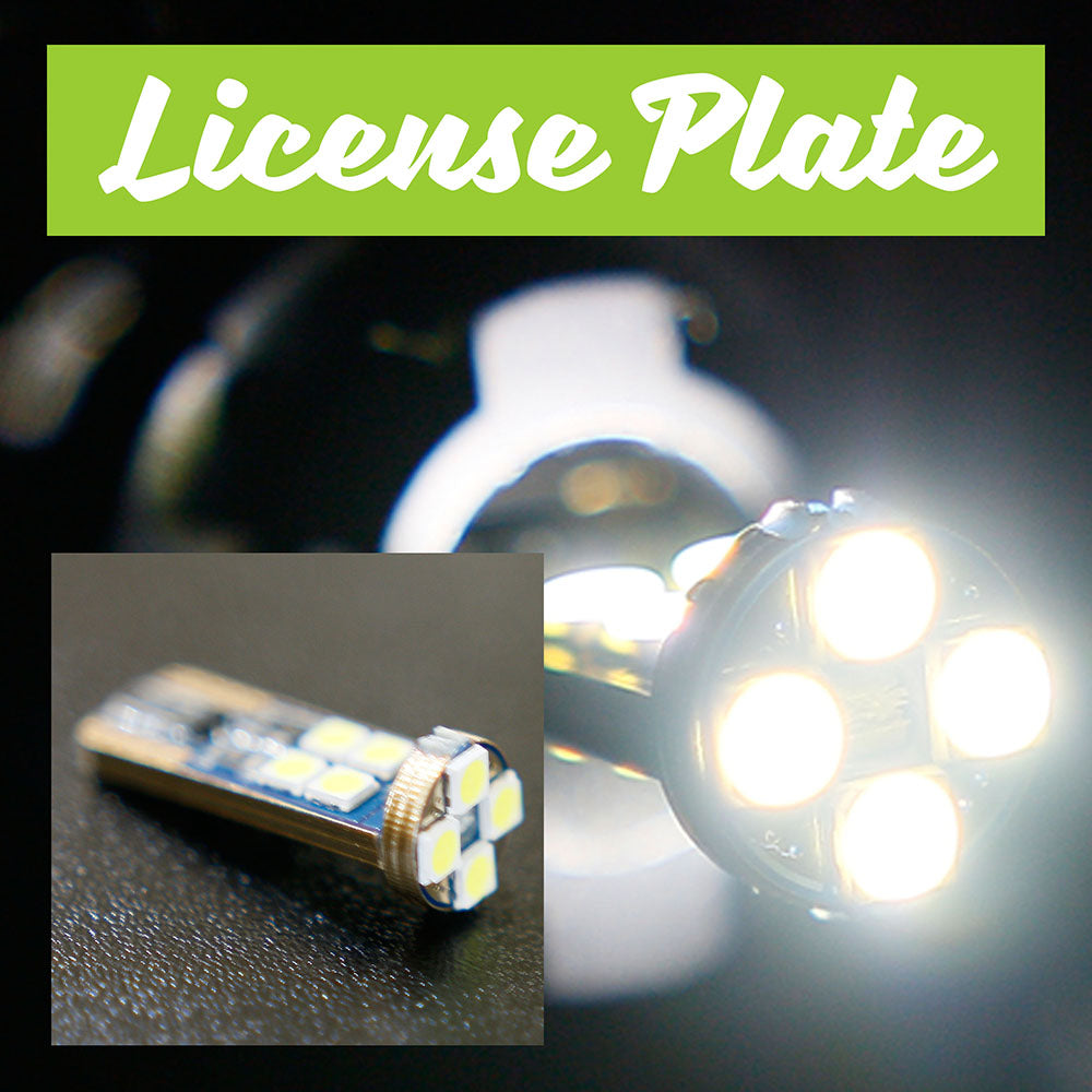 Honda Civic DX Coupe LED License Plate Bulbs