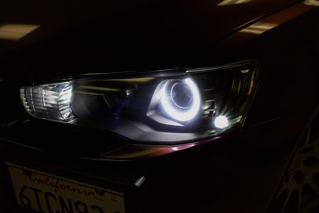 MODIFICATION: EVO X STAGE 2 HALO HEADLIGHTS - DOES NOT INCLUDE HEADLIGHTS