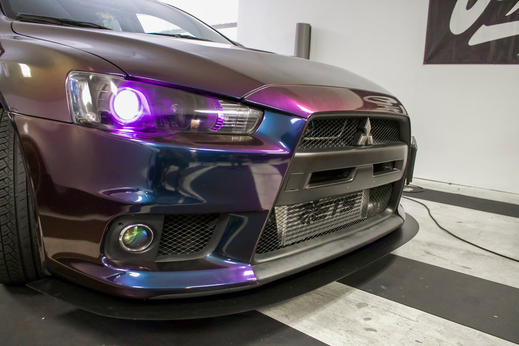MODIFICATION: EVO X STAGE 3 DEMON EYE & HALO HEADLIGHTS - DOES NOT INCLUDE HEADLIGHTS