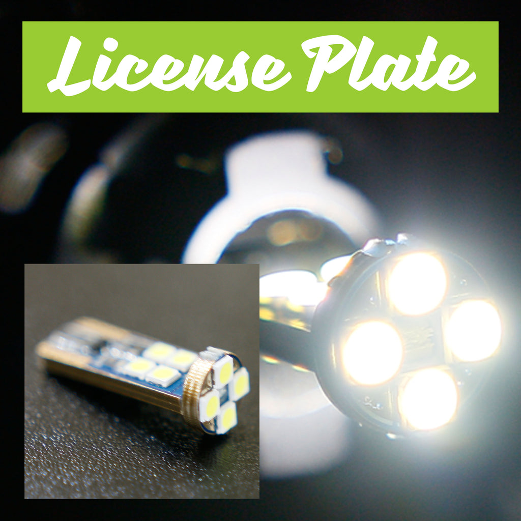 370 Z LED License Plate Bulbs