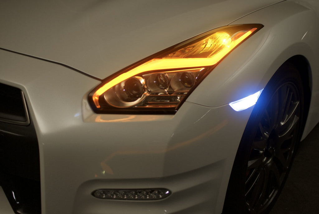 Nissan GTR Side Marker LED Bulbs