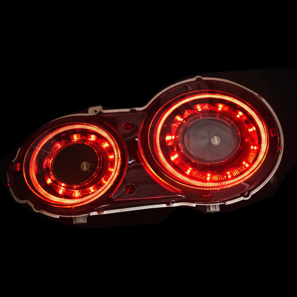Modification: Stage 3 GTR (2015+) Black Sequential LED Tail Lights - DOES  NOT INCLUDE OEM LIGHTS
