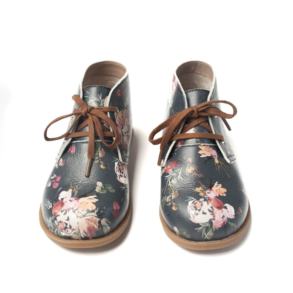 the hard-soled oxford: wildflower bouquet