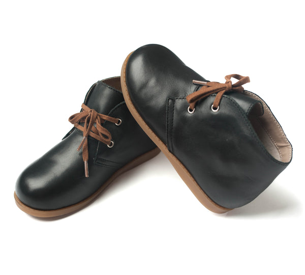 the hard-soled oxford: black