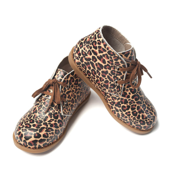the hard-soled oxford: leopard