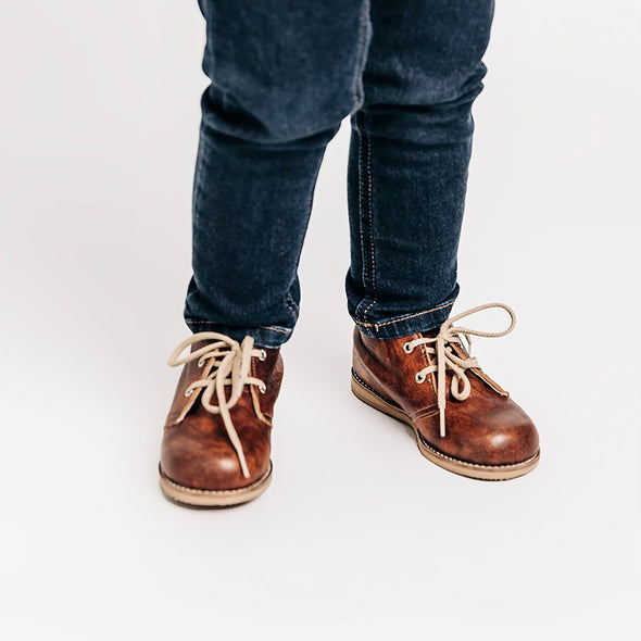 the hard soled oxford: saddle