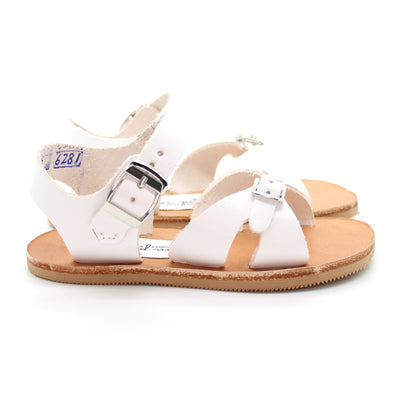 cape cod sandal: white