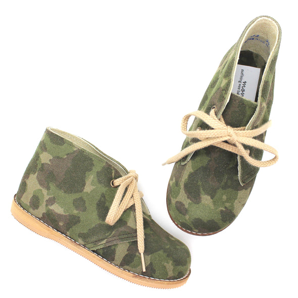 the hard soled oxford: camouflage