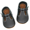 the original soft-soled t-strap: black (RTS)