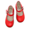 the hard soled mary jane: red