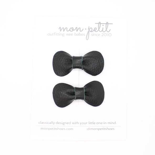 mon petit bow: petit rose | pigtail set | all colors