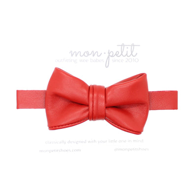 classique bow tie: red