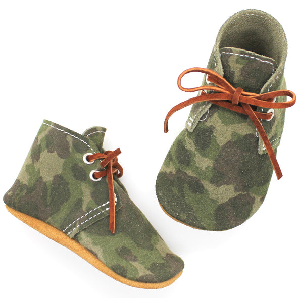 the oxford: suede camouflage (RTS)