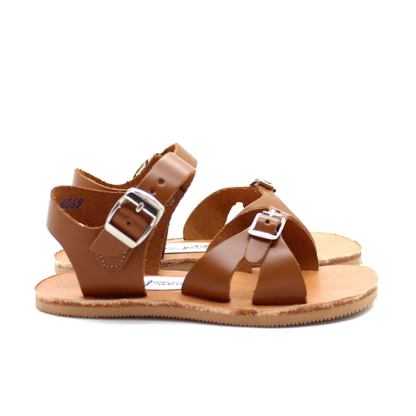 cape cod sandal: brown