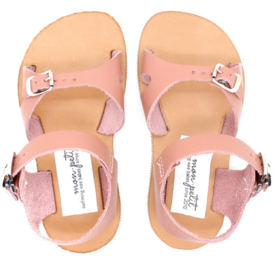 cape cod sandal: dusty rose