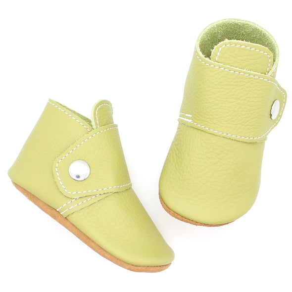 the snap boot: chartreuse