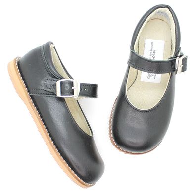 the hard soled mary jane: classic black