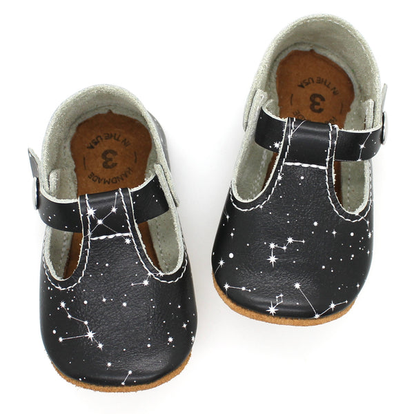 the original soft-soled t-strap: constellation (RTS)