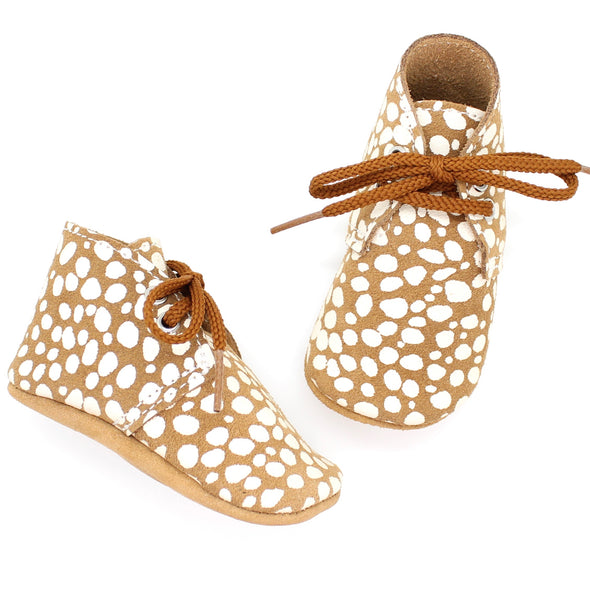 the oxford: fawn dot