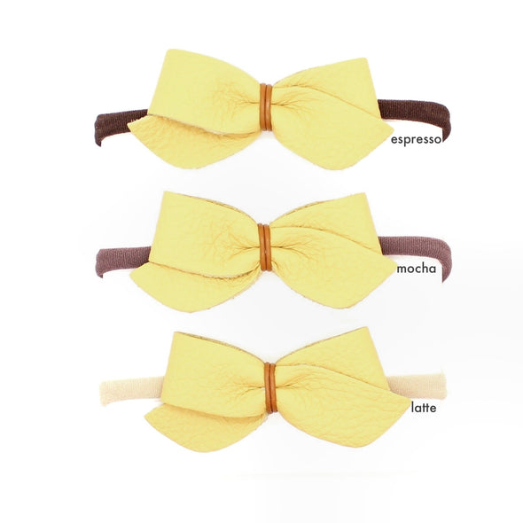 mon petit bow: madeleine | headband | all colors