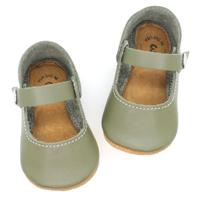 the mary jane: military green