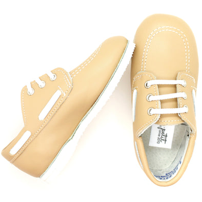 the boat shoe: peanut
