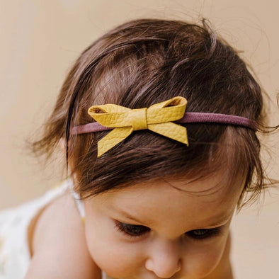 mon petit bow: petit margot | headband | all colors