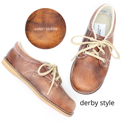 the derby shoe: saddle