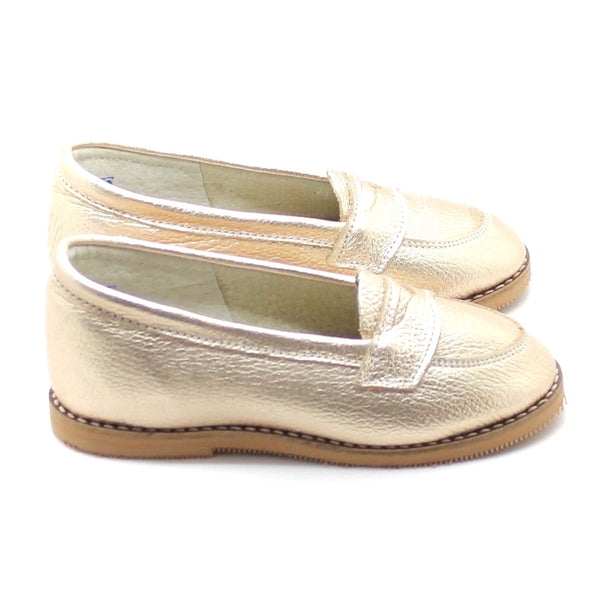 the loafer: white gold