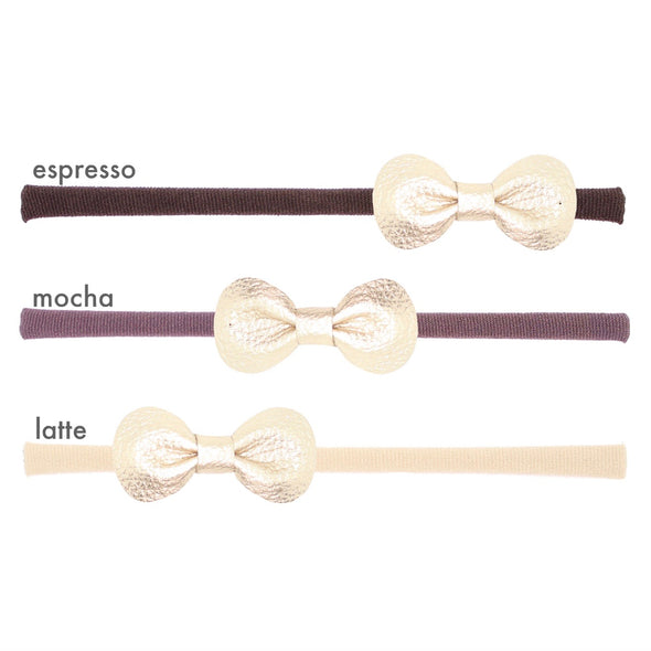 mon petit bow: petit rose | headband | all colors