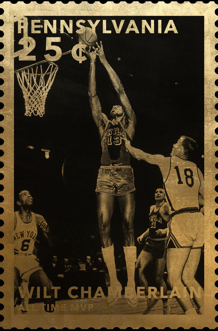 Stamps of Icons: Wilt Chamberlain