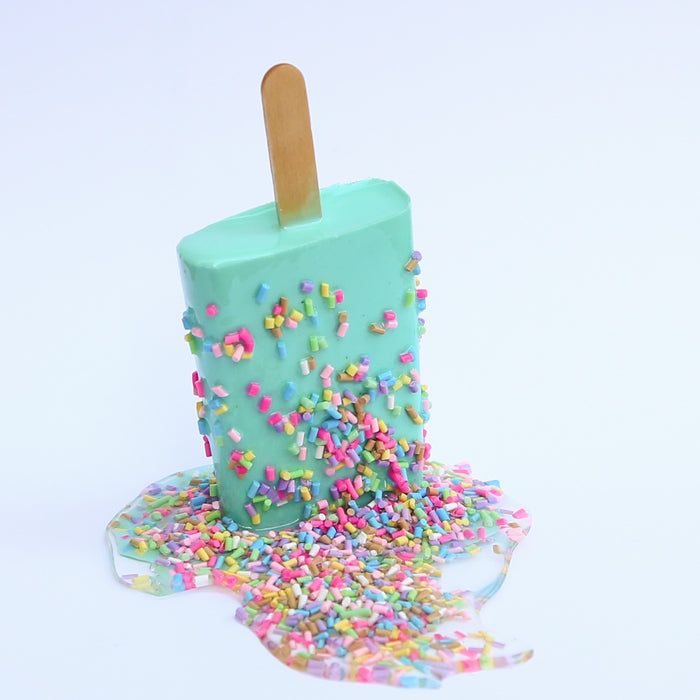 Mint sprinkle pop (custom made with lead time)