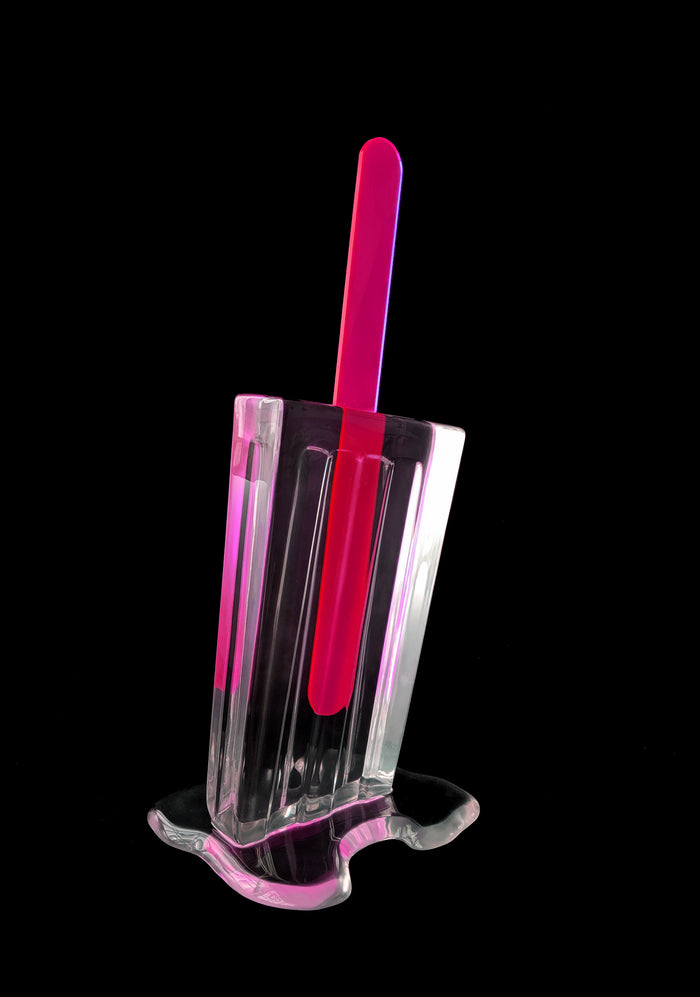 Clear Popsicle 24x8x3